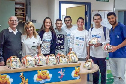 פעילות פורים לילדים מאושפזים בבתי חולים ברחבי הארץ